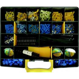 COFFRET AGRICOLE  485 PCS ELECTRIQUE  COSSES DOUBLE SERTISSAGE