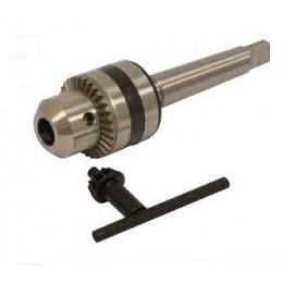 Mandrin à clé 1,5-13mm + cône morse N°2   - S15579