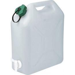 JERRICAN Alimentaire 20 litres extra fort avec bouchon et robinet -EDA  S18754