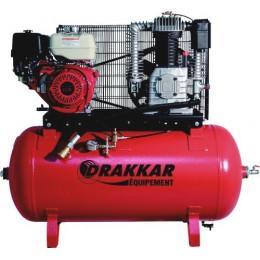 COMPRESSEUR THERMIQUE 9CV 230L DRAKKAR EQUIPEMENT MOTEUR HONDA - AIR -S11251