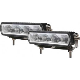 LOT DE 2 BARRES D'ECLAIRAGE 4 LEDS 20W HOMOLOGUEES ROUTE -S17113.02
