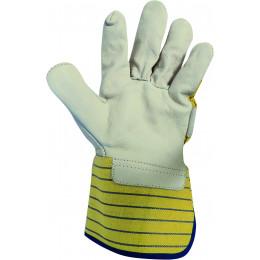 Paire de gants docker cuir pleine fleur taille 10 S21008
