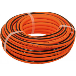 Rallonge en polymère hybride- int/ext 8x 14 mm- 20m ORANGE -S06538