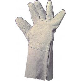 Paire de gant soudeur cuir  taille 10 -S21100