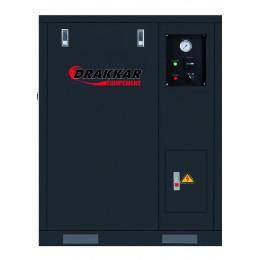 Compresseur insonorisé à pistons10 CV TRI avec cuve verticale 500L-S11241