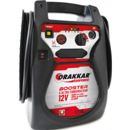 BOOSTER portable 12V-1800A- ULTRA CONDENSATEUR -Drakkar Tools-S04592