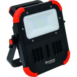 PROJECTEUR LED Rechargeable avec haut parleur bluetooth-DRAKKAR EQUIPEMENT-S02155