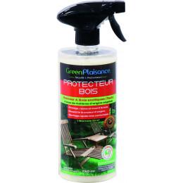 PROTECTEUR BOIS  EXOTIQUE EXTERIEUR ECOPUISSANT Green plaisance 750 ML