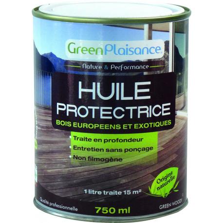 HUILE SATURATEUR TERRASSE BOIS  origine végétale  Hydrofuge-2,5Litres GreenPlaisance