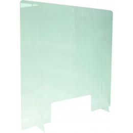 Barrière de protection plexiglas 90CMX90CM -S66009
