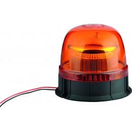 GYROPHARE LED DOUBLE FLASH 12/24V A PLAT 45 LEDS S16303