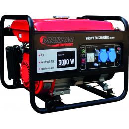 GROUPE ELECTROGENE Monophasé ESSENCE 3000 WATTS 7 Cv - S11018