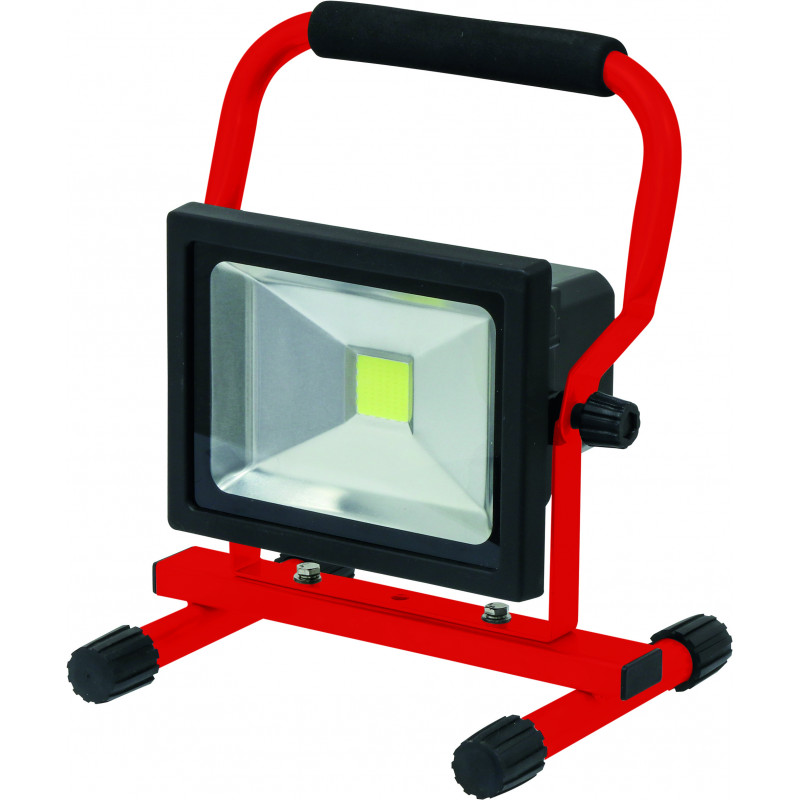 projecteur led rechargeable portable chantier 20w s02319