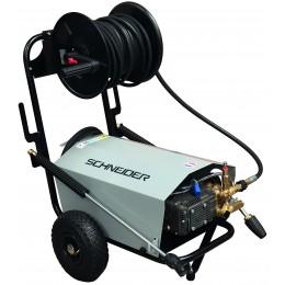 NETTOYEUR HAUTE PRESSION EAU FROIDE TRI 900l/h 200 bar-FLEXIBLE ENROULEUR 20M  -S50066