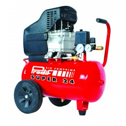 Compresseur 24 l 2CV mono 230V  avec huile Prodif SUPER24  -S11222