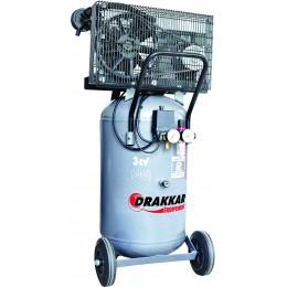 COMPRESSEUR 100L 3CV  230V HAUTE PERFORMANCE  VERTICAL DRAKKAR S11215