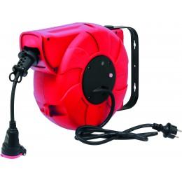 Enrouleur automatique électrique 3G 1.5 mm² 16M+2M puissance 1800 W - S03100