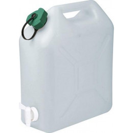 JERRICAN Alimentaire 10 litres avec bouchon et robinet - 18752