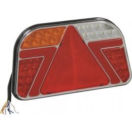 FEU ARRIERE LED 7 FONCTIONS DROIT SODIFLASH 16051