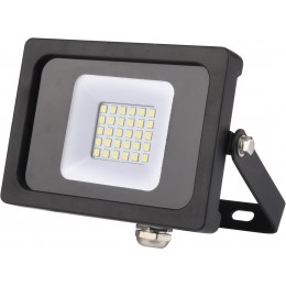 PROJECTEUR 30 LED  GIGALUX 10W 800 LUMMENS  AVEC CABLE - 02230