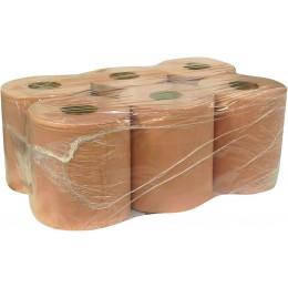LOT DE 6 BOBINES OUATE CHAMOIS 450 FEUILLES 19,5 X 30 CM SODITECH 14559