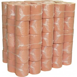 LOT DE 60 BOBINES OUATE CHAMOIS 1500 FEUILLES 21 X 30 CM SODITECH 17514.30