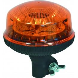 GYROPHARE 8 LED ROTATIF DIAM 144 MM SODIFLASH-SUR TIGE FLEXIBLE -17054