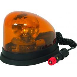 GYROPHARE GOUTTE D'EAU ORANGE LAMPE H1 -16304