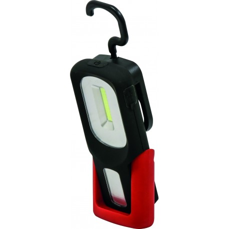 BALADEUSE LED D'ATELIER RECHARGEABLE 180 LUMENS GIGALUX 02409