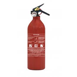 EXTINCTEUR HOMOLOGUE POUDRE 1KG AVEC MANO-ANAF FIRE PROTECTION  -S16454